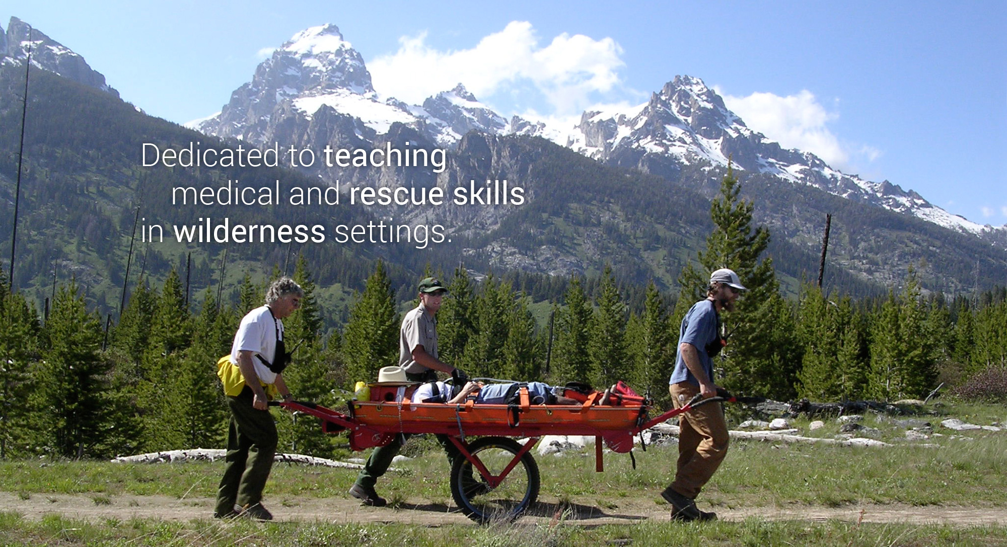 Dedicated to teaching medical and rescue skills in wilderness settings.