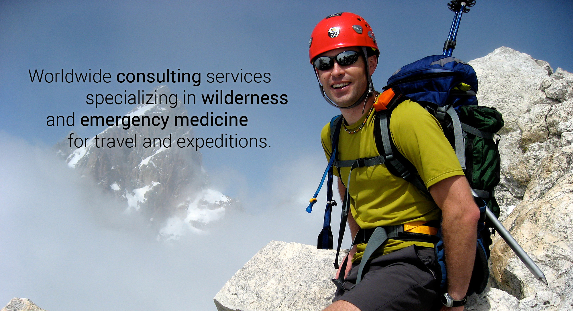 Worldwide consulting services specializing in wilderness and emergency medicine for travel and expeditions.