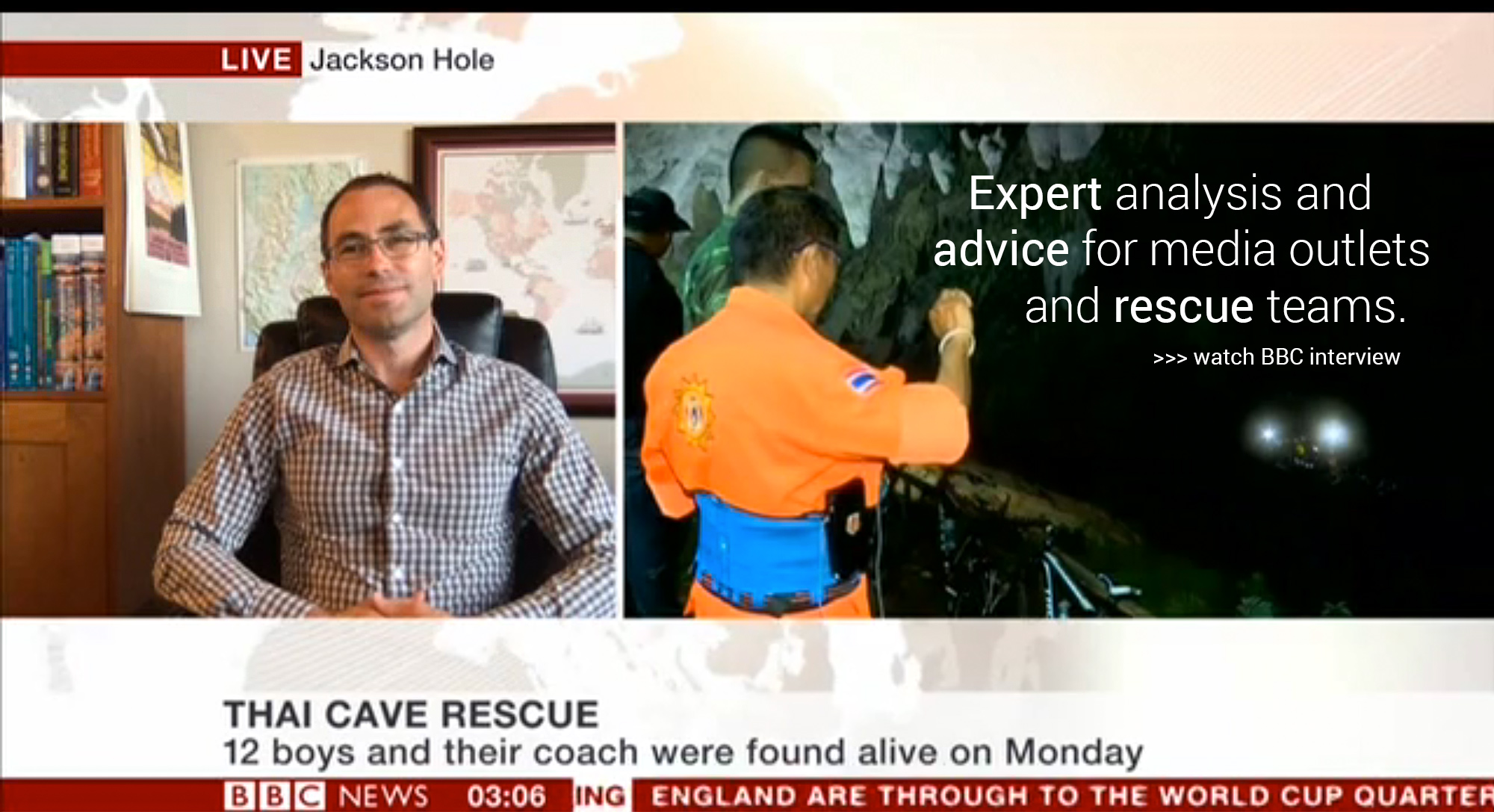 Expert analysis and advice for media outlets and rescue teams.